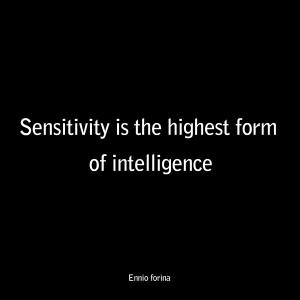 Sensitivity - Intelligence-E