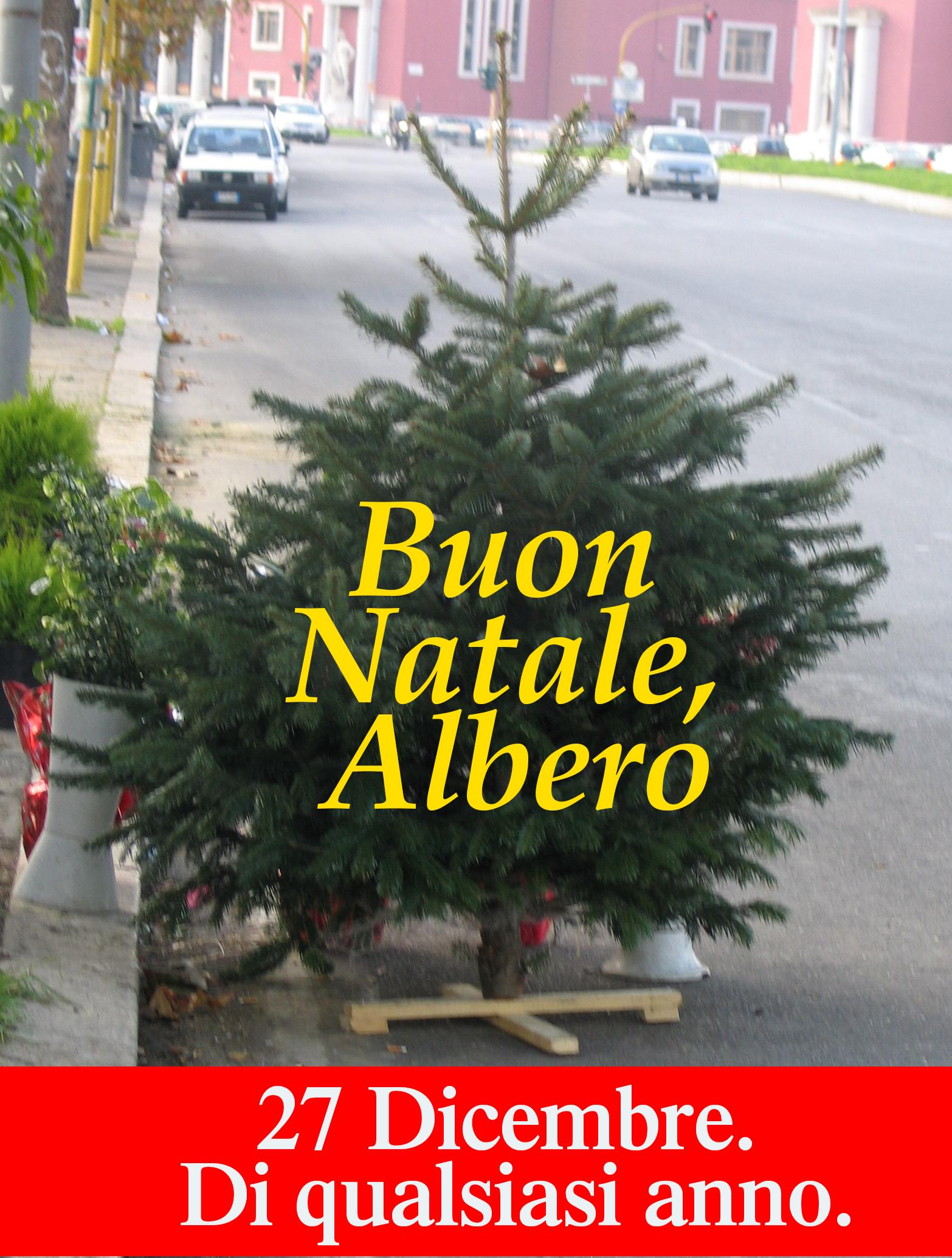 Buon Natale Albero