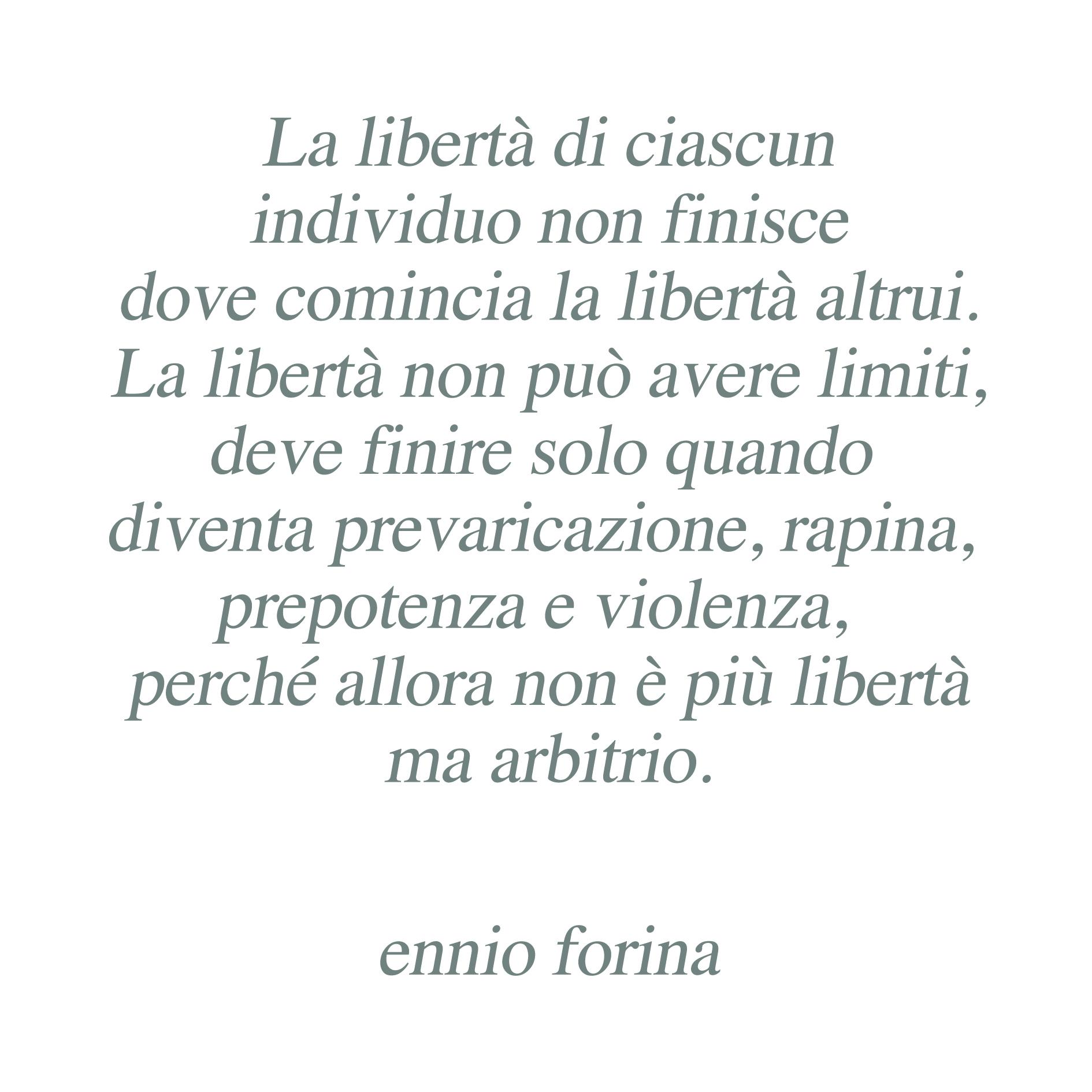 Libertà fine